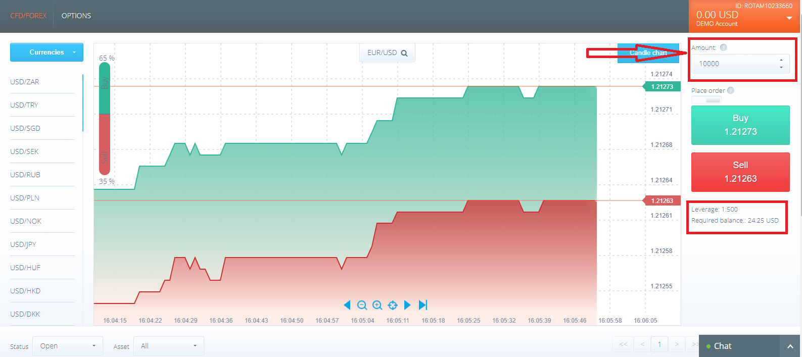 Frequently Asked Question (FAQ) of Trading in Raceoption